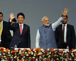 Japan now has a plan to counter China's OBOR, and it involves India