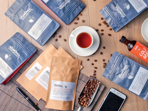 Koinonia Coffee Roasters sources beans from award-winning estates such as Kelagur, Badra and Marvahulla
