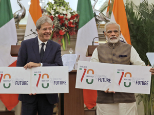 India, Italy vow to fight terrorism, violent extremism