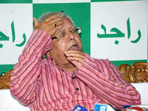 "Prasad also took potshots at Nitish Kumar over prohibition in Bihar, terming it a ""fraud""."