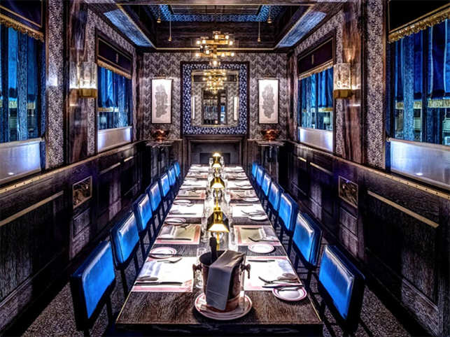 The best private dining rooms in london the economic times for Best private dining rooms in london