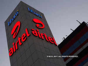 The optical fibre business of Bharti Airtel includes both underground and overground fibres.