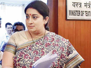 """""""My best wishes to @MOFPI_GOI for #WorldFoodIndia which is in line with Hon PM's vision of transforming food economy, doubling farmer income,"""" Irani said in a tweet."""