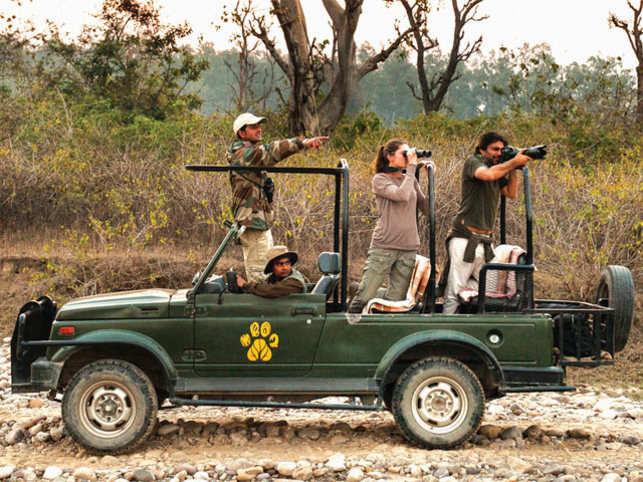 Jim Corbett Wildlife Sanctuary is a fabulous getaway in Uttarakhand to spot tigers, leopards and wild elephants (Pic courtesy: Jim's Jungle Retreat)