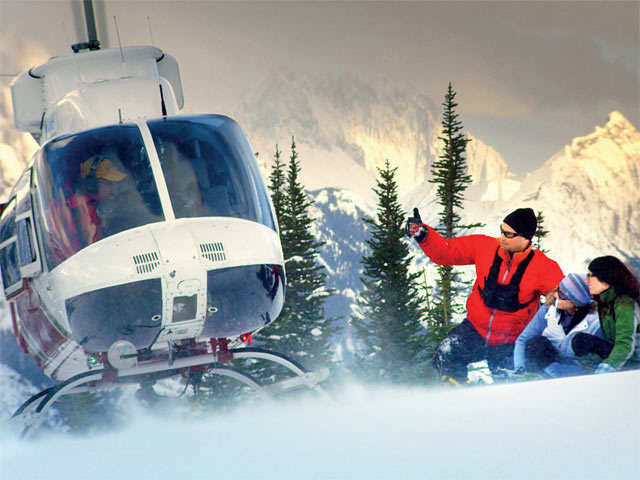 Heli-skiing: The perfect mix of two adventures
