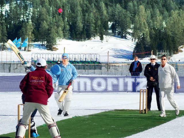 Move over regular cricket, Switzerland's St Moritz adds a fun twist to the sport