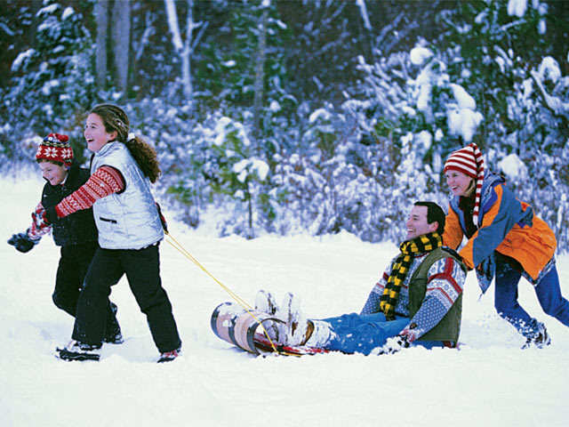 Tobogganing: The perfect winter sport to enjoy with your family