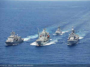 Indian naval ships pay goodwill visit to Sri Lanka
