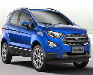 Ford Launches New Ecosport Priced Between Rs 7 31 10 99 Lakh The