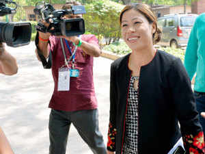 Besides five world titles, Mary Kom also has an Olympic bronze medal to her credit.