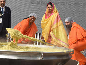 Food Processing Industries Minister Harsimrat Kaur Badal said the investment included commitment worth $11.25 billion by the private sector, $2.5 billion by states and initiatives undertaken by the Central government