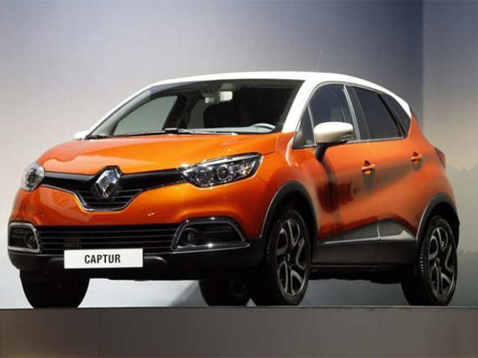 under the hood renault captur suv launched at rs lakh the economic times. Black Bedroom Furniture Sets. Home Design Ideas