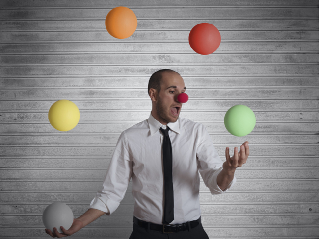 A Work Out Like No Other Take Up Juggling To Relieve Stress Boost Concentration The Economic Times