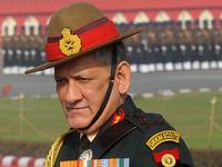 Will neutralise any terrorists on Indian soil: Army Chief General Bipin Rawat