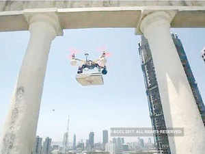 Alibaba plans to use drones to deliver high value-added products such as fresh food and medical supplies over water in the future.