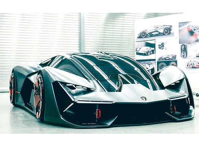 The future starts today! Lamborghini unveils a self-healing, electric supercar