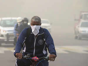 The national capital is experiencing 'severe' air quality under a blanket of thick haze, as pollution levels have breached the permissible standards by multiple times.