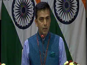 There should be conducive environment: MEA on Indo-Pak talks