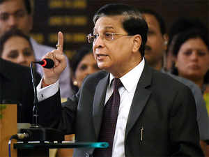 Justice Misra, who shared the panel with Union Law Minister Ravi Shankar Prasad, also said only genuine cases should be filed to ensure smooth functioning of the system.