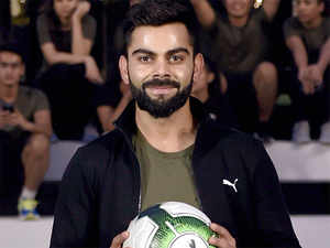 Kohli is the face of some 17 brands, including Audi, MRF, Tissot, Gionee, Puma, Boost, Colgate and Vicks.