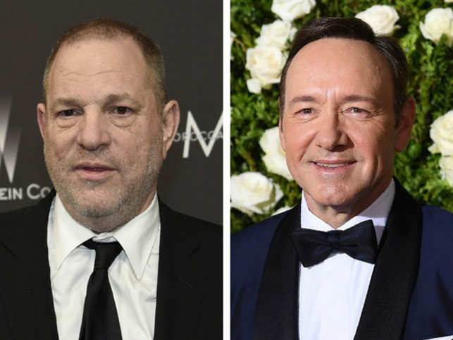 In early October, Hollywood was rocked by scandal after reports surfaced that movie mogul Harvey Weinstein had allegedly sexually harassed or assaulted multiple women over decades. The film fraternity went into shock as actresses shared their stories against the film producer and former film executive.  Just days after the Weinstein bomb had dropped, there was another big name joining the list: Kevin Spacey. The 'House of Cards' actor was accused by actor Anthony Rapp of molestation. Rapp's outburst led to more than a dozen people coming forward with their own allegations against Spacey that included attempted rape.