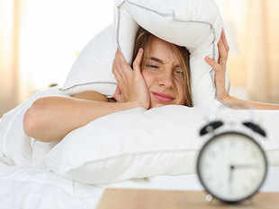 Sleep disturbances might contribute to amyloid deposits and accelerate cognitive decline.