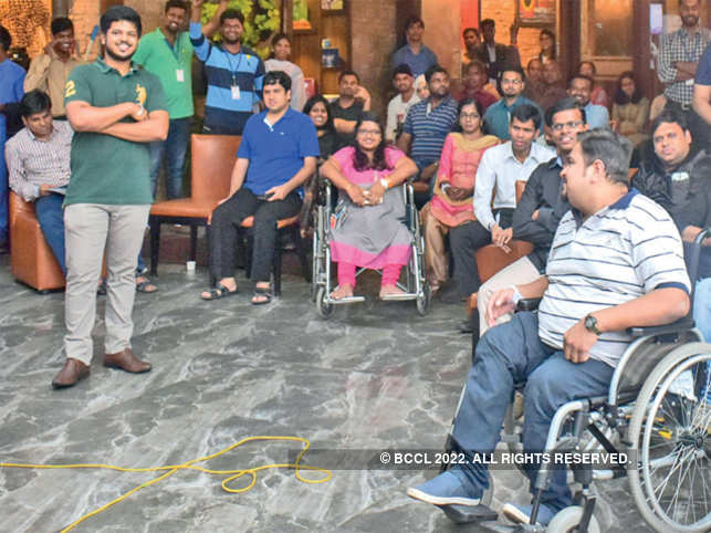 Around 40% of Inclov's users are not differently abled