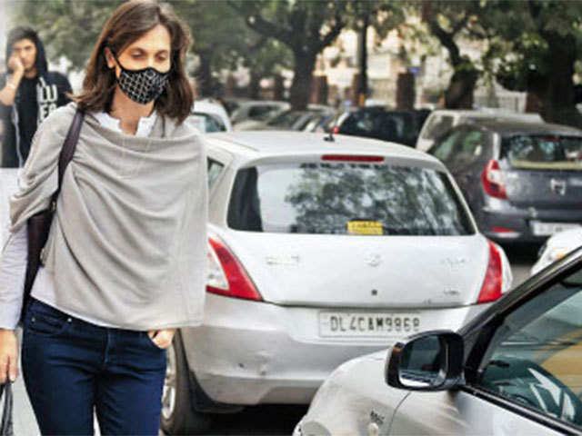 Fashion cannot be masked by pollution