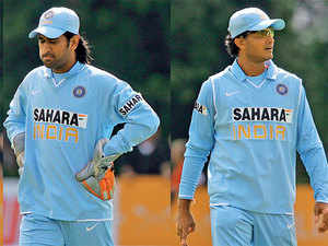 A Dhoni-Ganguly parallel is being drawn in various quarters.