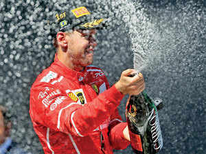 Vettel matched Hamilton win for win in the first half of the season.
