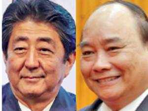 Japan and Vietnam have been involved in a tussle with China over the latter's activities in East China Sea and South China Sea, respectively.