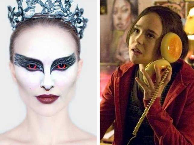 Stills from 'Black Swan' (Left) and 'Juno' (Right).  (Image: IMDb)