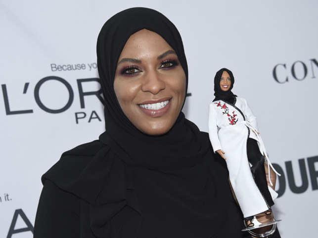 Barbie takes inspiration from Olympian Ibtihaj Muhammad, makes a hijab-wearing doll