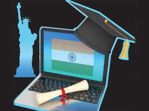 The latest official data shows the number of Indian students going to the US for higher education rose only 12.3% in 2016-17, a three-year low.