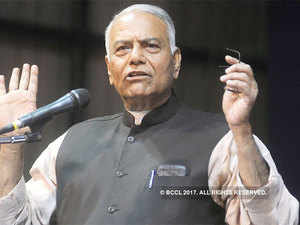 Sinha, who is on a three-day visit to poll-bound Gujarat, was talking about the effects of demonetisation and GST on the Indian economy at a press conference.