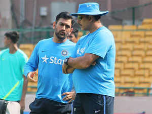 """People should look back at their career before commenting on Dhoni. The former captain has a lot of cricket left in him and it is the duty of the team to back the legend,"" Shastri said."