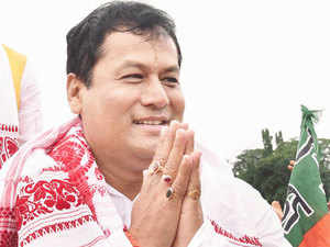 """Sonowal said, """"Industrialists here are the torch-bearers and ambassadors of the state."""""""