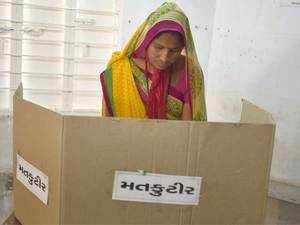 On the first day of nomination filing, three Independent candidates filed their papers for the Bhuj, Talaja and Bhavnagar West seats, a release issued by the Gujarat chief electoral officer said.