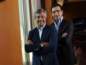 Pramod Bhasin (L) and Anil Chawla