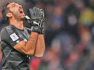 """I'm sorry. Not for me but for Italy. We blew something that could have meant so much. The only regret is that it ended like this,"" said Gianluigi Buffon."