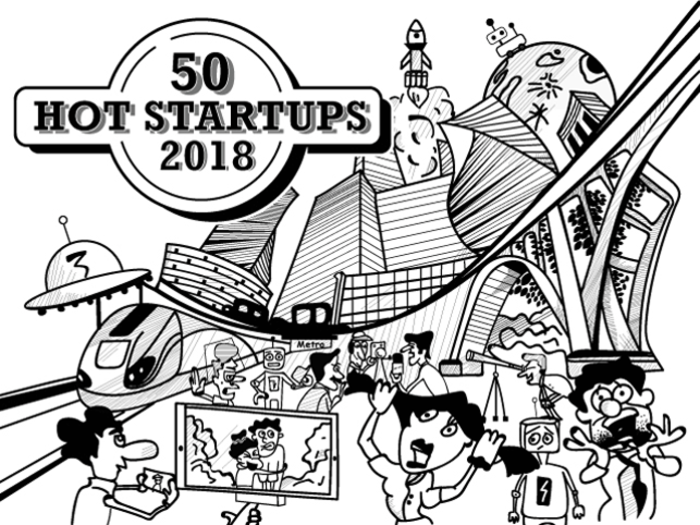 50 Startups To Watch Out For In 2018