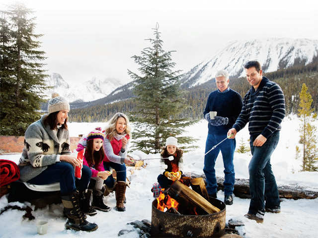 Here's how to plan your perfect family winter break to Gstaad, Jackson Hole, Budapest