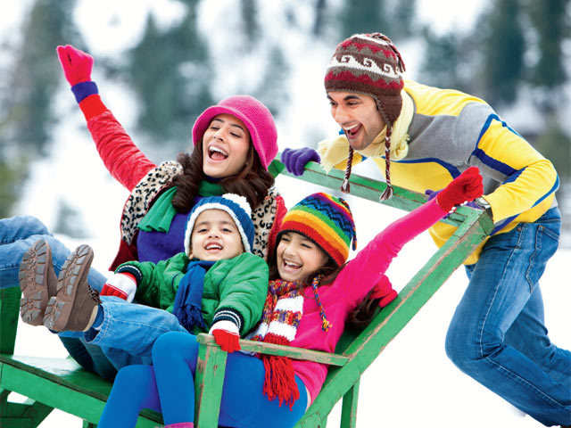 This winter, enjoy family vacation in the snow and try kid-friendly adventures