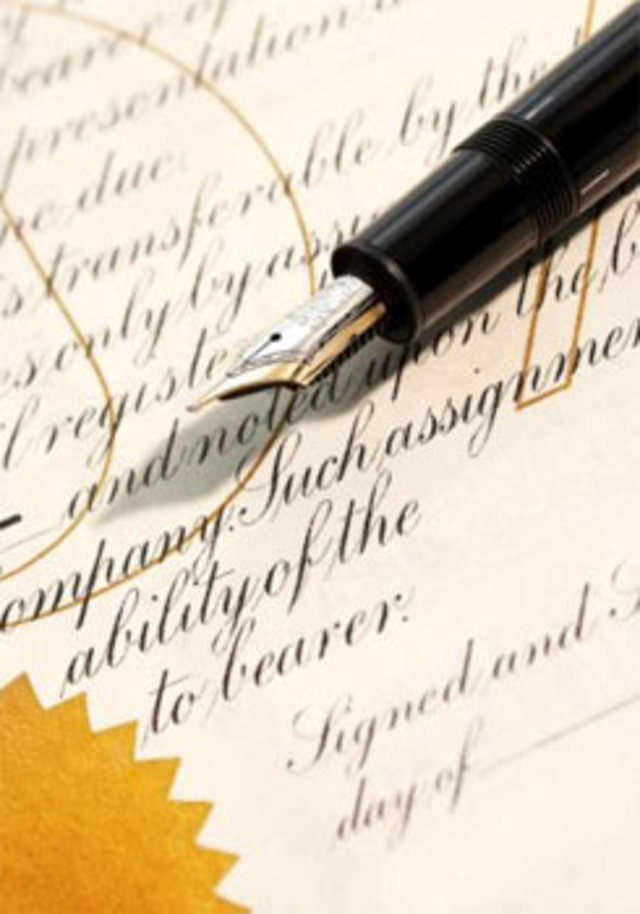 Probate and letters of administration of Will A will can resolve
