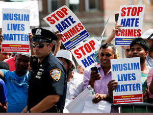 According to the FBI's 2016 hate crimes statistics released this week, anti-Muslim hate crimes increased by 19 per cent