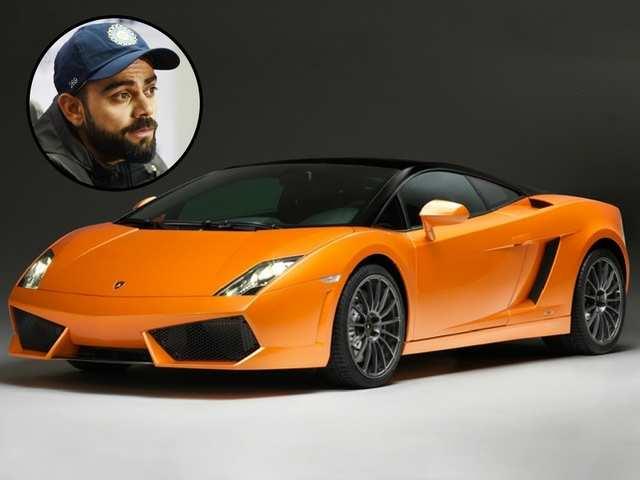 Virat Kohli Lamborghini Gallardo Jpg From Lamborghini To Ferrari