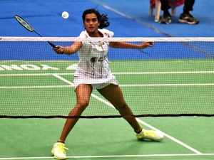 In the first game, Sindhu opened up a 2-0 lead before Fangjie showed her fighting skills and turned the tables at 4 -3.