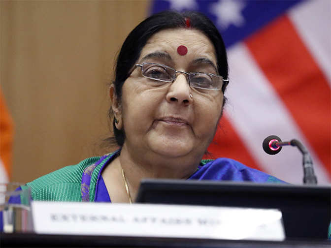 Civil nuclear cooperation 'important pillar' of India-France engagement: Sushma Swaraj