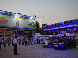Hindustan Petroleum corporation limited Launch Electric vehicle Charging Station.