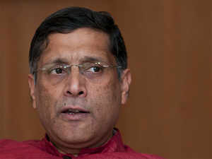 GST collections were in line, Subramanian said, adding that everyone would be surprised by how much the tax base would expand.